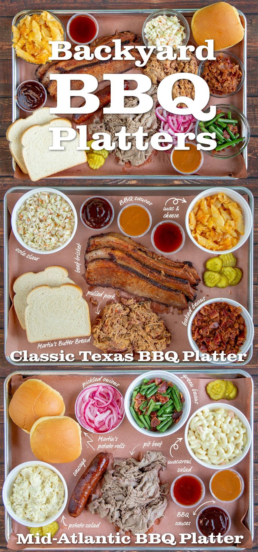 Backyard BBQ Platters