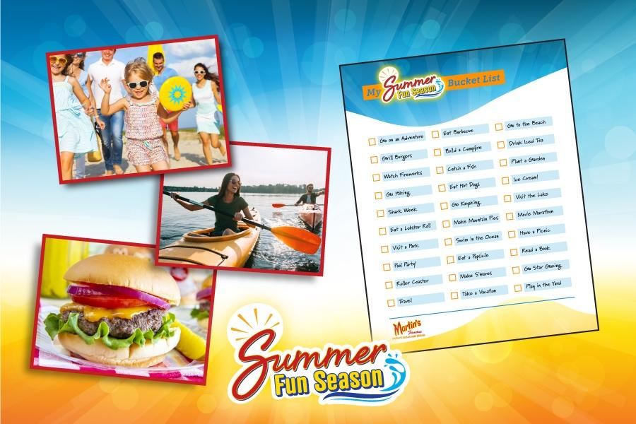 Summer Fun Bucket List Featured Image