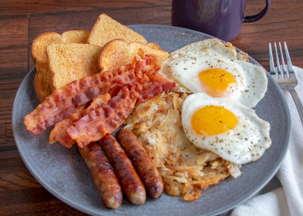 Lumberjack Breakfast Plate